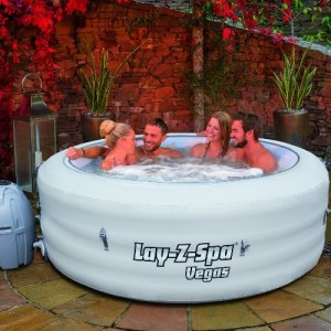 Whirlpool Outdoor Lay-Z-Spa-Vegas
